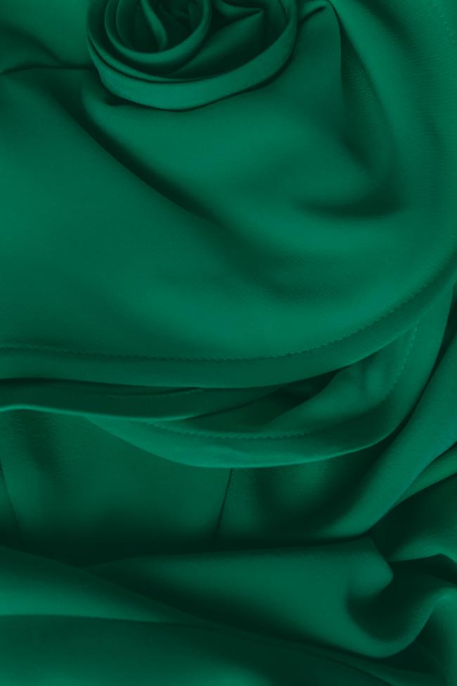 'Volume of Spirit' off-the-shoulder ruffled crepe gown Bien Savvy image 3