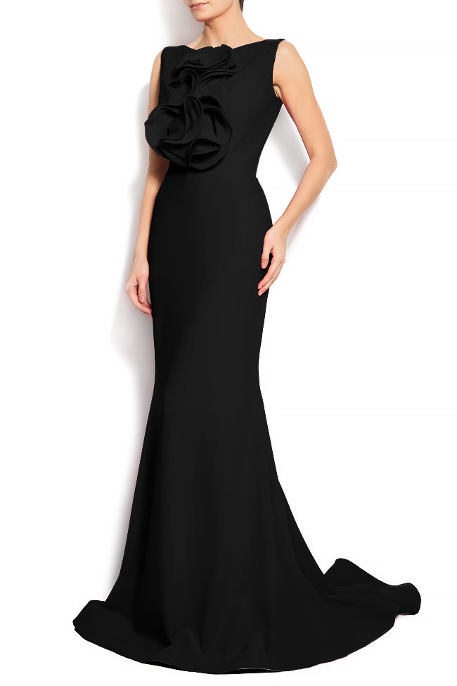'Volume of romance' crepe gown Bien Savvy image 1