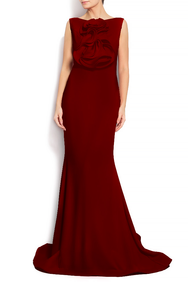 'Volume of romance' crepe gown Bien Savvy image 0