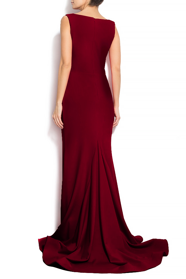 'Volume of romance' crepe gown Bien Savvy image 2