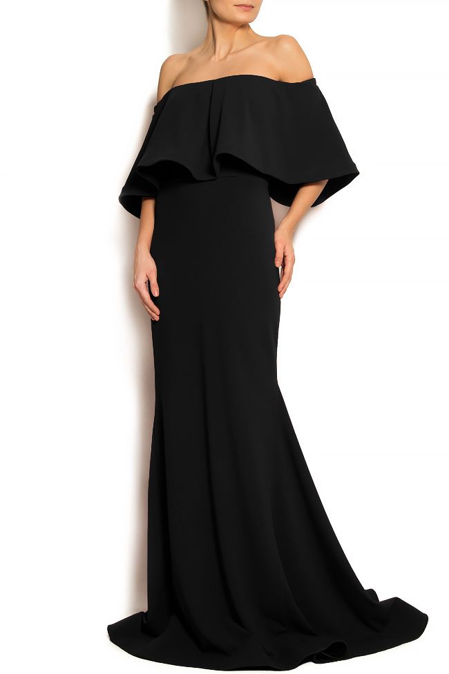 'Volume of Story' ruffled crepe gown Bien Savvy image 1
