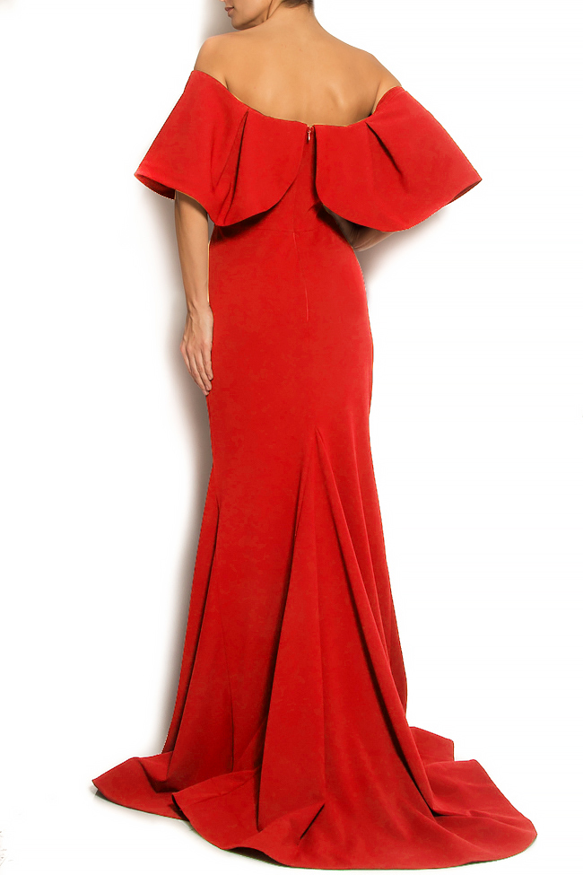 'Volume of Story' ruffled crepe gown Bien Savvy image 2