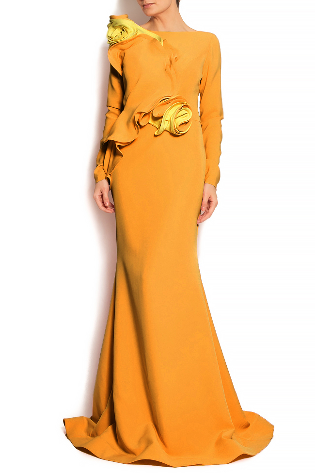 'Volume of Delicacy' ruffled crepe gown Bien Savvy image 1