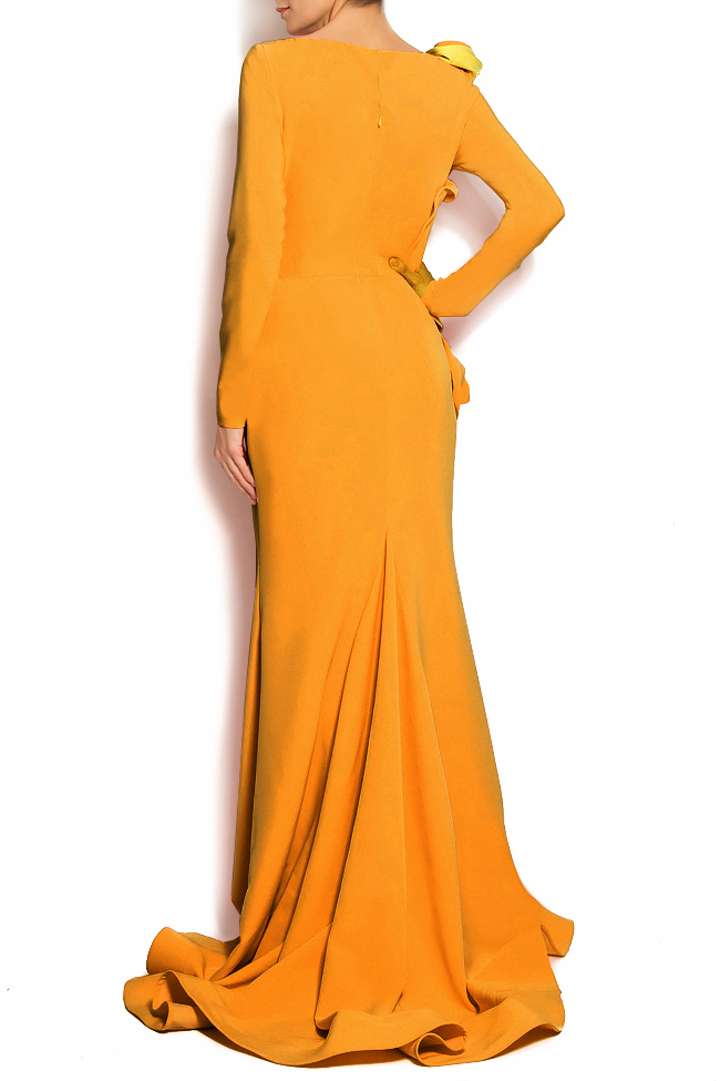 'Volume of Delicacy' ruffled crepe gown Bien Savvy image 2