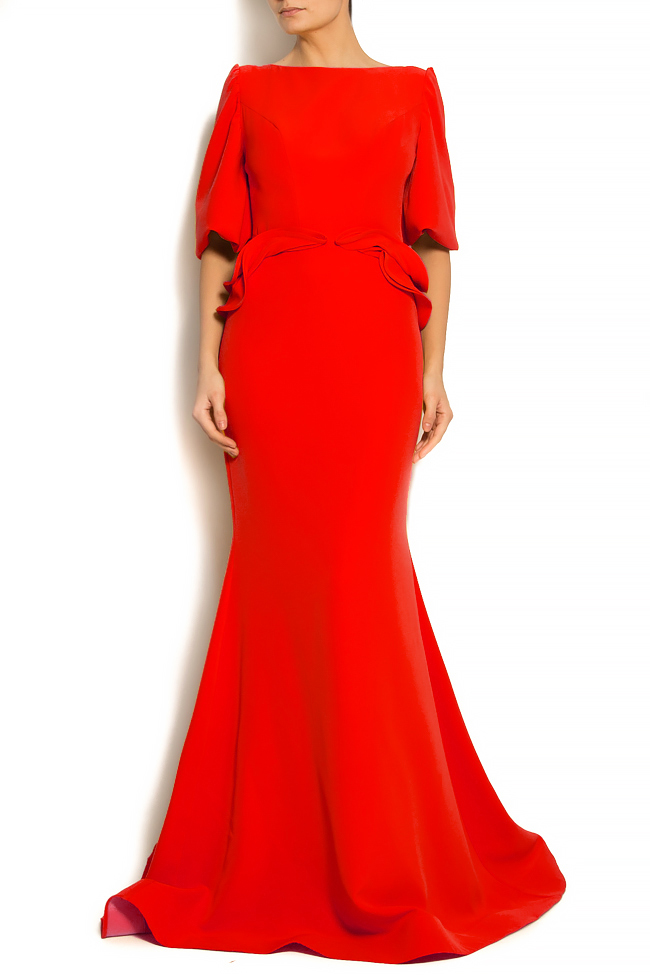 'Volume of Story' ruffled crepe gown Bien Savvy image 0