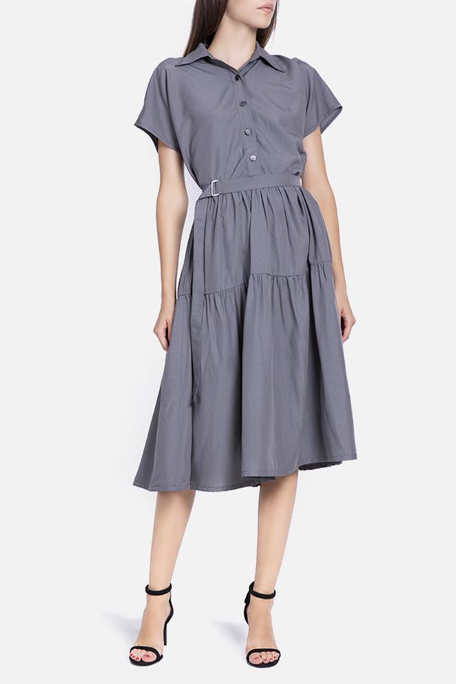 Robe en mélange de coton avec cordon détachable Undress image 0