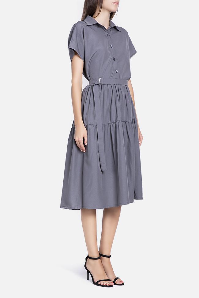 Rochie din rayon cu cordon detasabil Undress imagine 1
