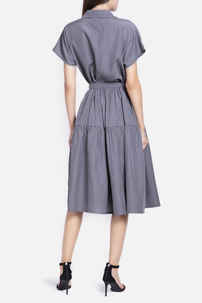 Rochie din rayon cu cordon detasabil Undress imagine 2