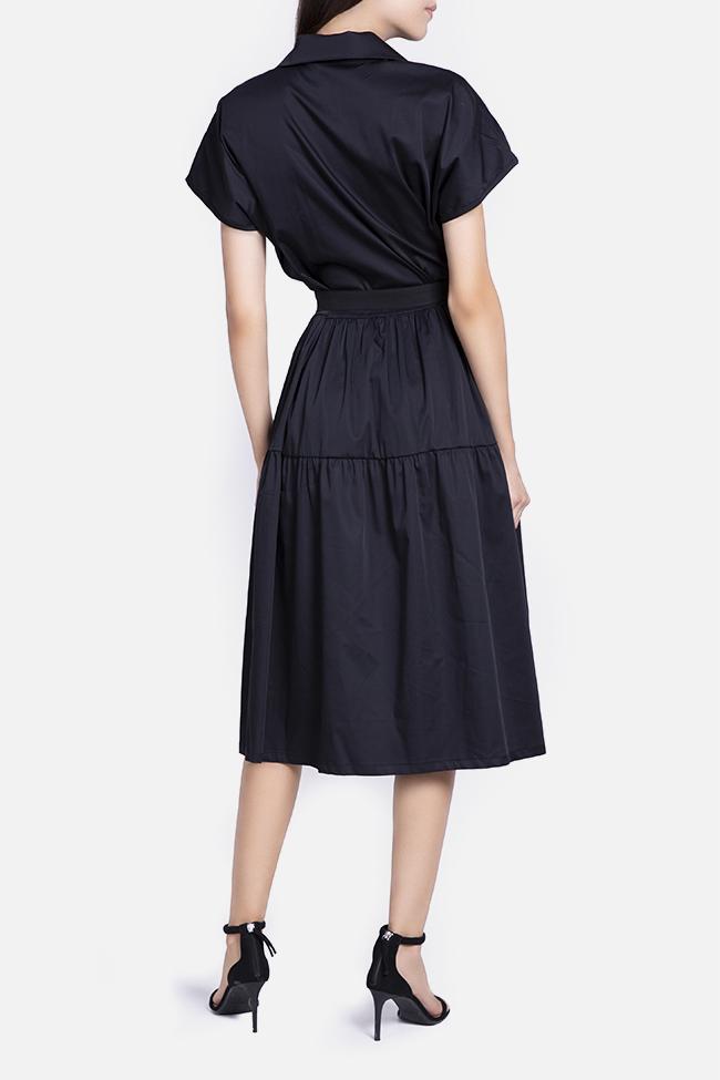 Belted cotton midi dress Undress image 2