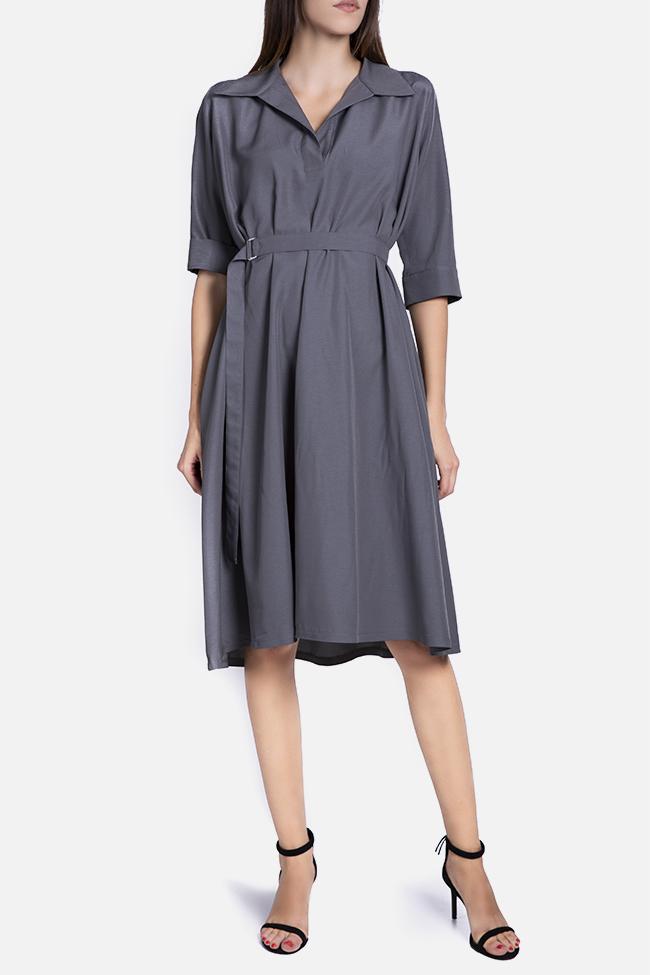 Robe en mélange de coton avec cordon détachable Undress image 1