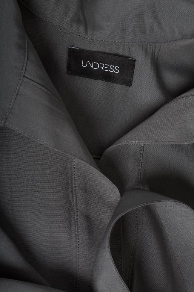 Robe en mélange de coton avec cordon détachable Undress image 4