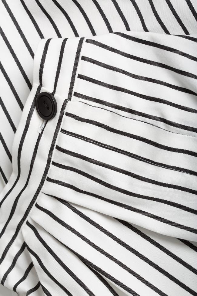 Striped cotton pants Undress image 4