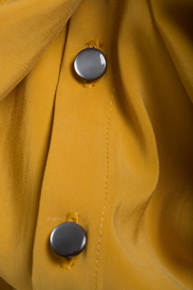 Rochie din amestec de bumbac cu cordon detasabil Undress imagine 4