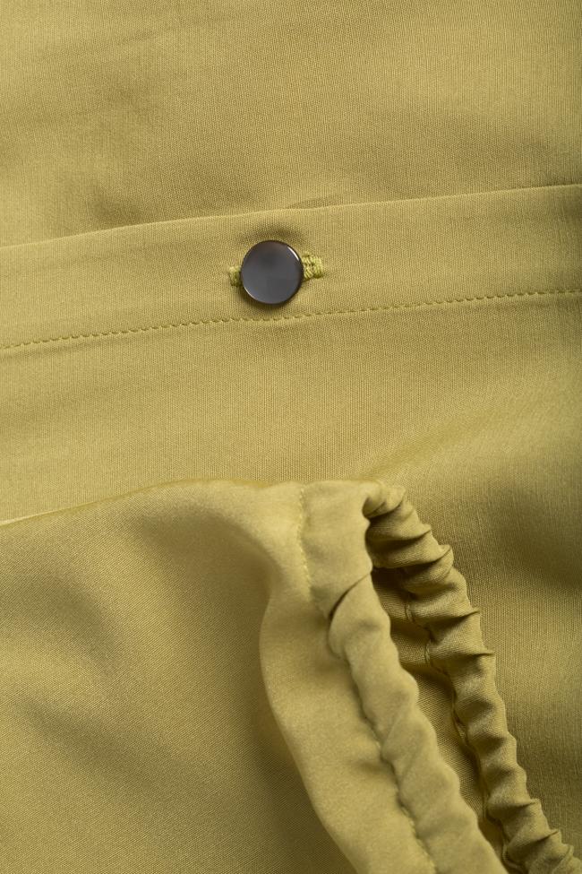 Belted cotton-blend midi dress Undress image 4