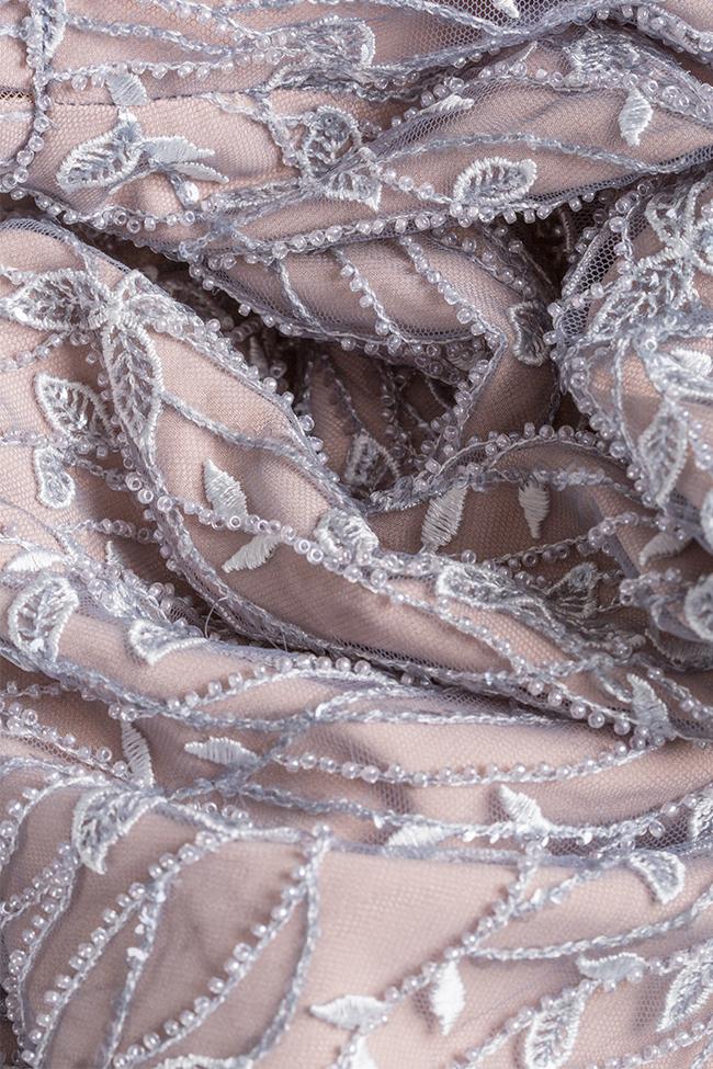 Robe en voile en mélange de coton brodée Nicole Enea image 4