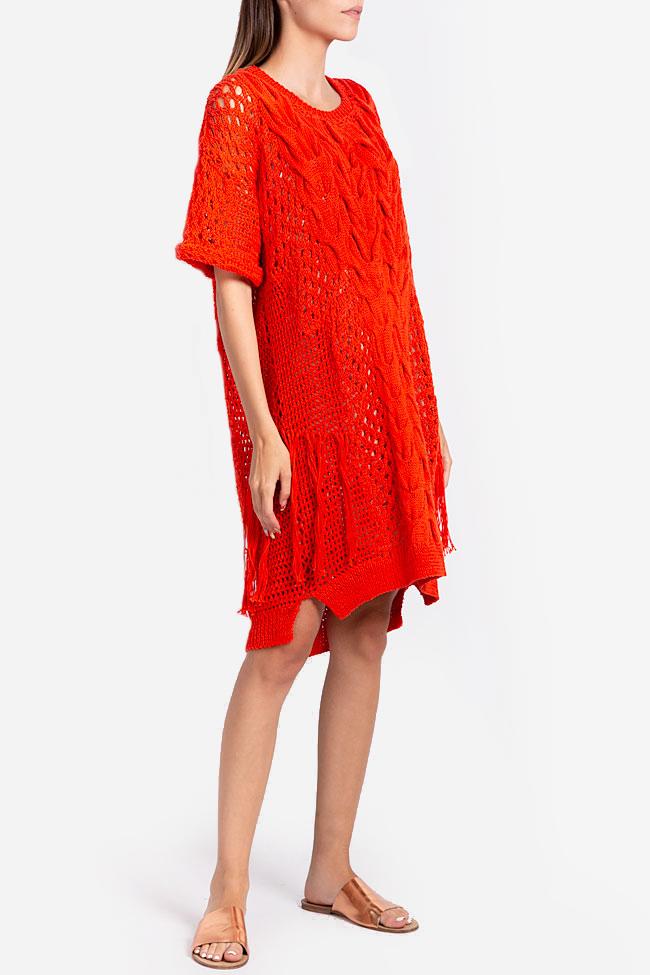 Robe en tricot de coton NARRO image 0