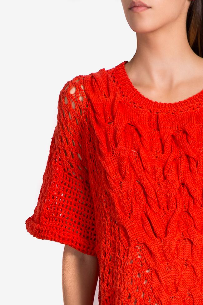 Robe en tricot de coton NARRO image 3