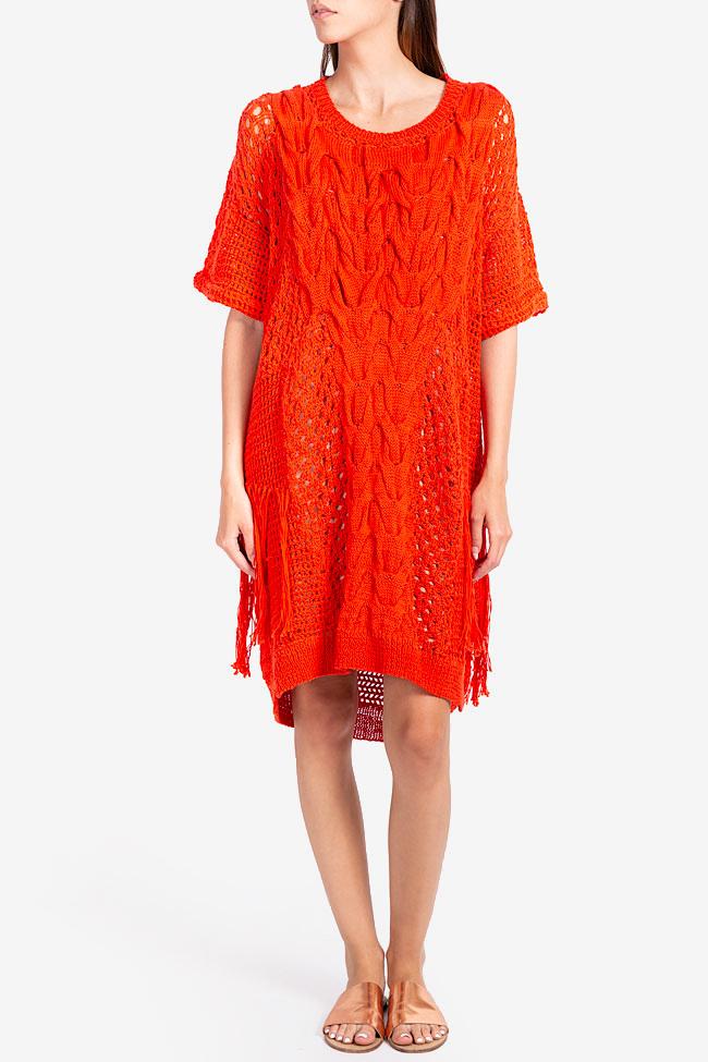 Robe en tricot de coton NARRO image 1