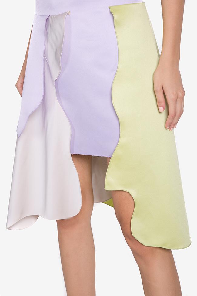 Robe asymétrique en taffetas Lena Criveanu image 3