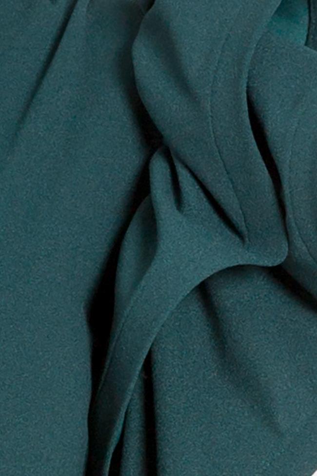 Robe maxi en crêpe avec volant Aida Bien Savvy image 4