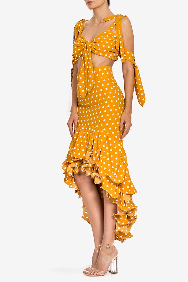 Polka-dot top and skirt set BADEN 11 image 0
