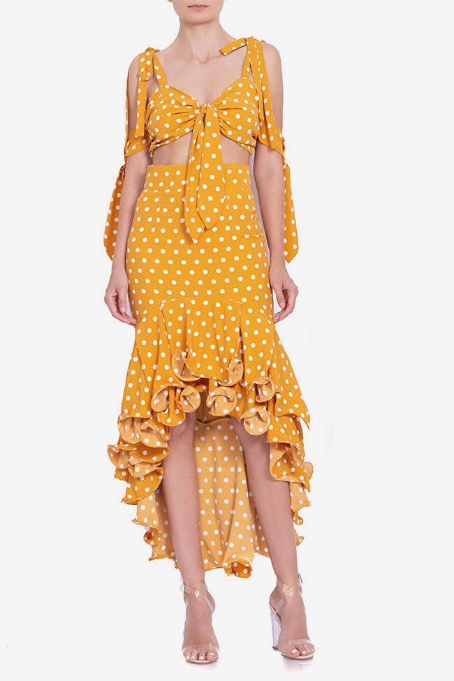 Polka-dot top and skirt set BADEN 11 image 1