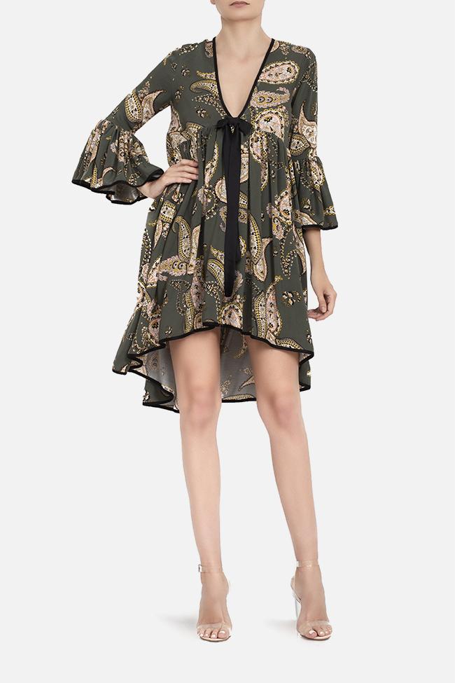 Robe asymétrique avec imprimé BADEN 11 image 1