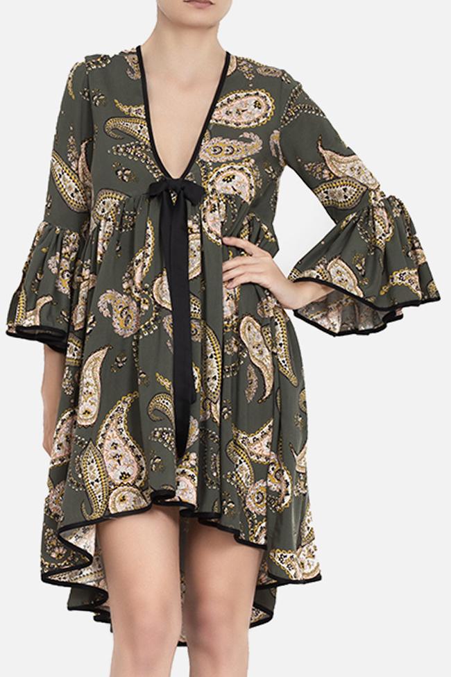 Robe asymétrique avec imprimé BADEN 11 image 0