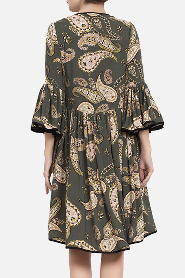 Robe asymétrique avec imprimé BADEN 11 image 2
