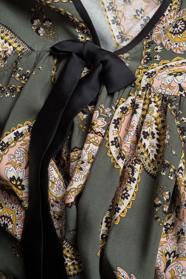 Robe asymétrique avec imprimé BADEN 11 image 4