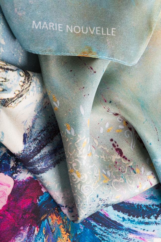 Foulard en soie L'été indien Marie Nouvelle image 3