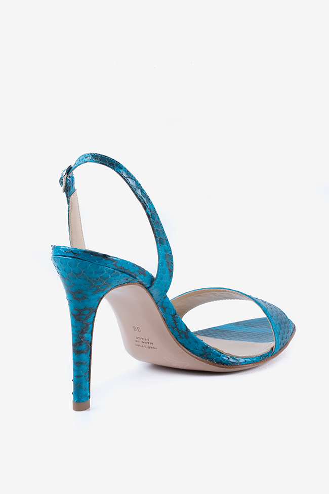 Sandales en cuir type pyton Agata Ginissima image 2