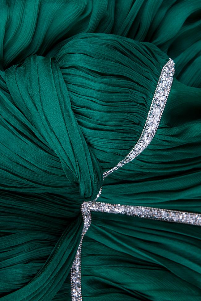 Robe en soie avec applications brodées à la main Essa Lian image 4