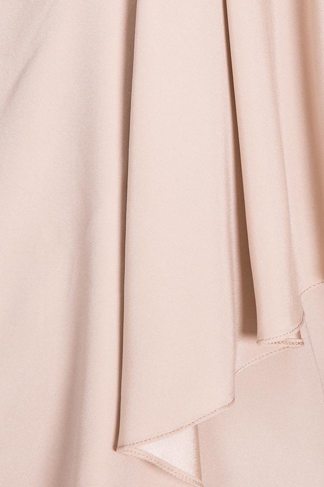 Asymmetric silk blouse Claudia Castrase image 4
