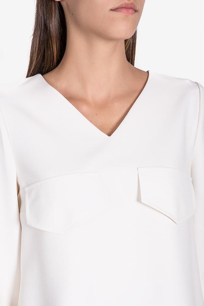 Bluza din amestec de viscoza Malevich Claudia Castrase imagine 3