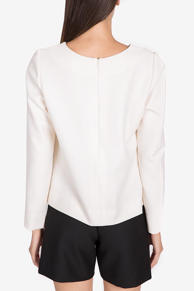 Bluza din amestec de viscoza Malevich Claudia Castrase imagine 2