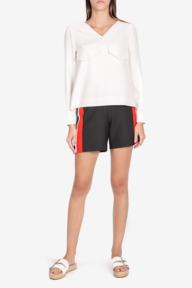 Bluza din amestec de viscoza Malevich Claudia Castrase imagine 1