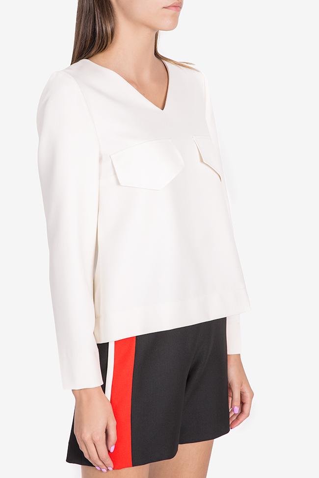 Bluza din amestec de viscoza Malevich Claudia Castrase imagine 0