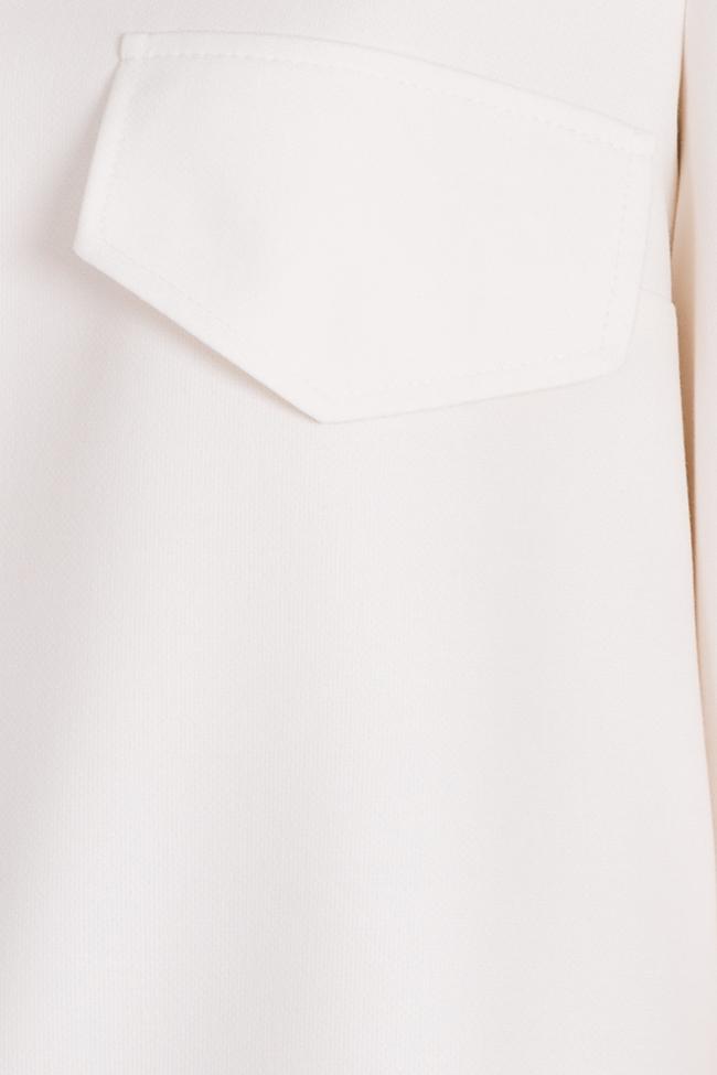 Bluza din amestec de viscoza Malevich Claudia Castrase imagine 4