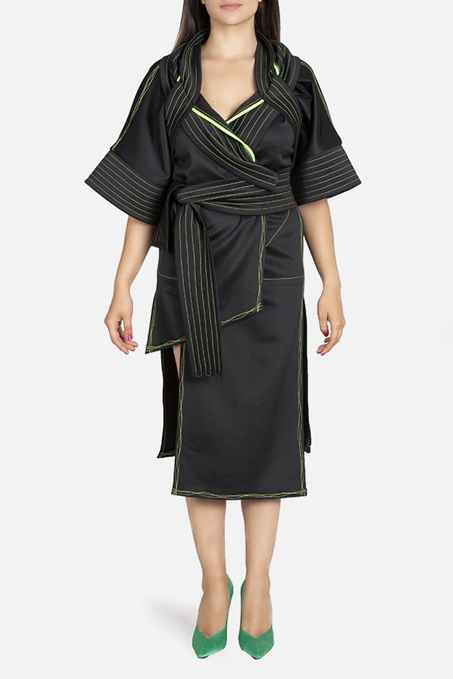 Kimono asymmetric jacket Edita Lupea image 1
