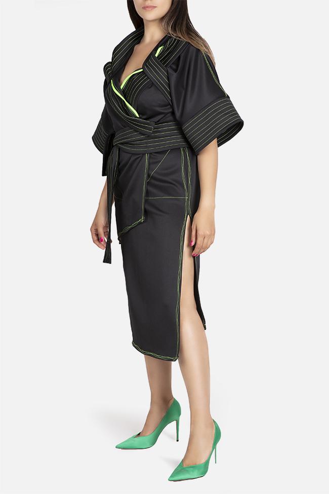 Kimono asymmetric jacket Edita Lupea image 0