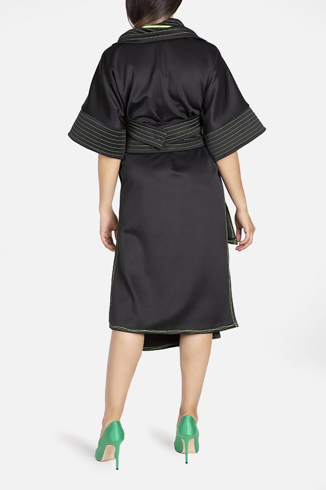 Kimono asymmetric jacket Edita Lupea image 2