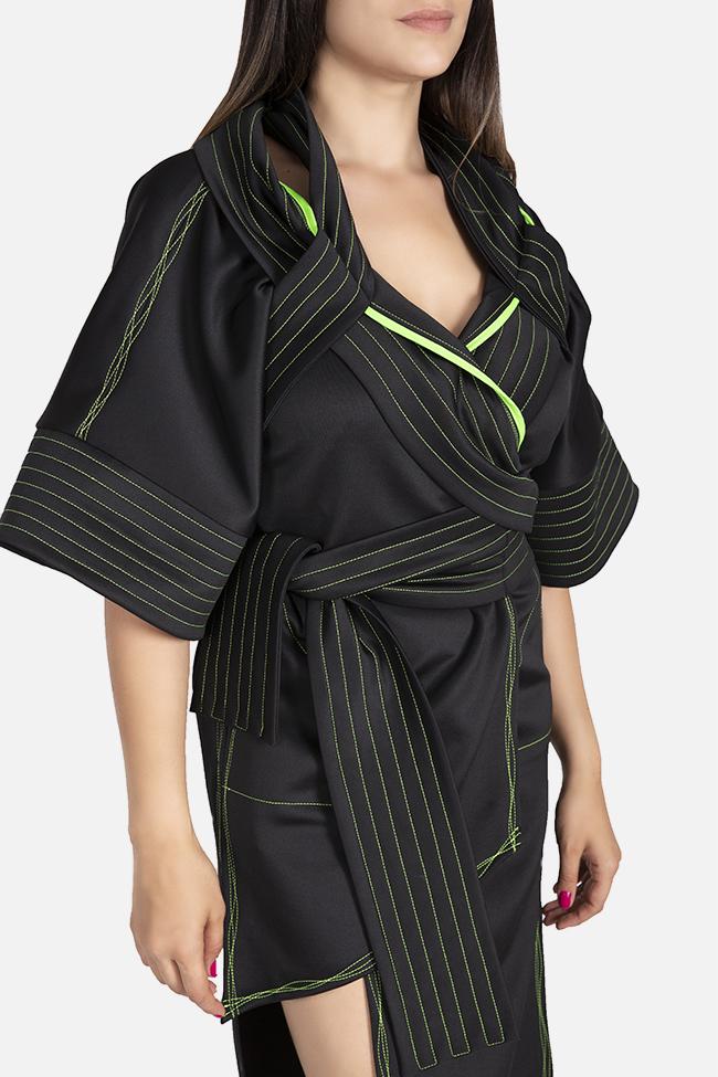 Kimono asymmetric jacket Edita Lupea image 3