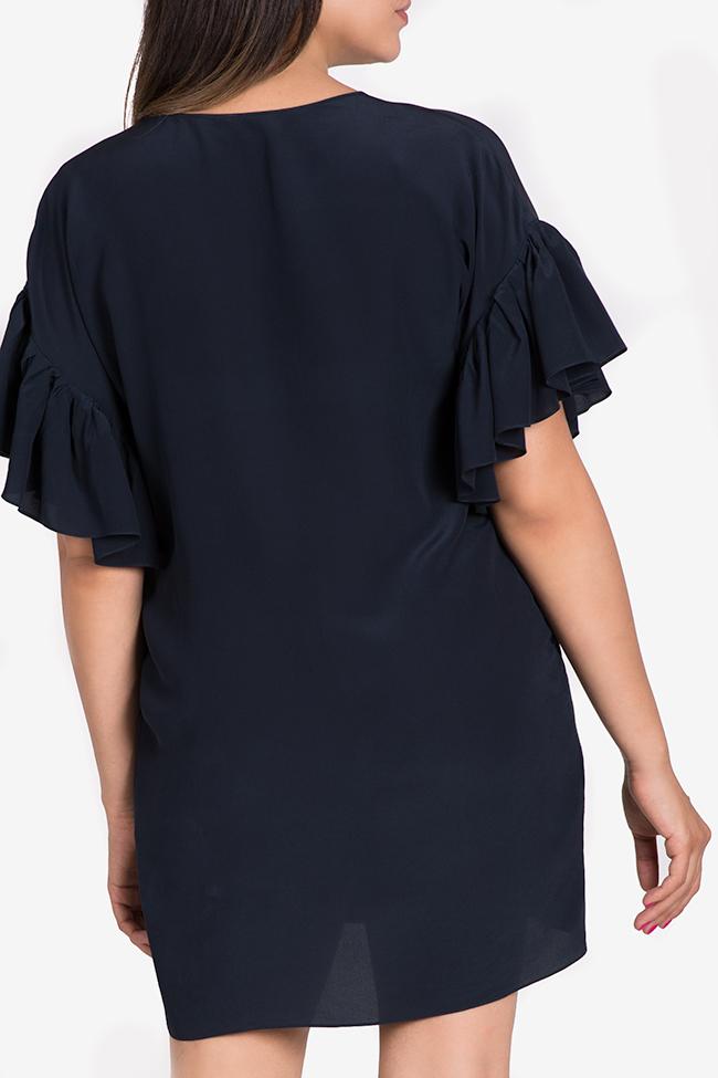 Robe mini en soie Claudia Castrase image 2