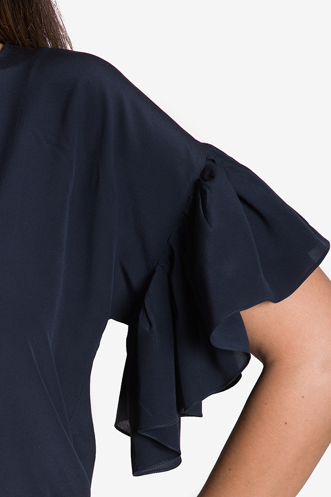 Robe mini en soie Claudia Castrase image 3