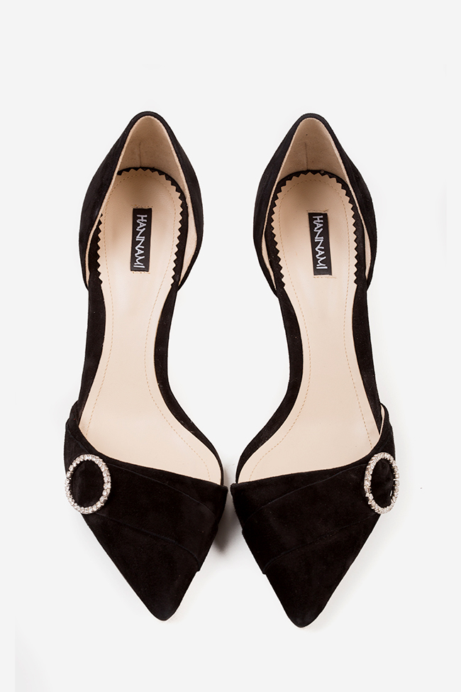 Chaussures en daim avec accessoire So Elegant Hannami image 2