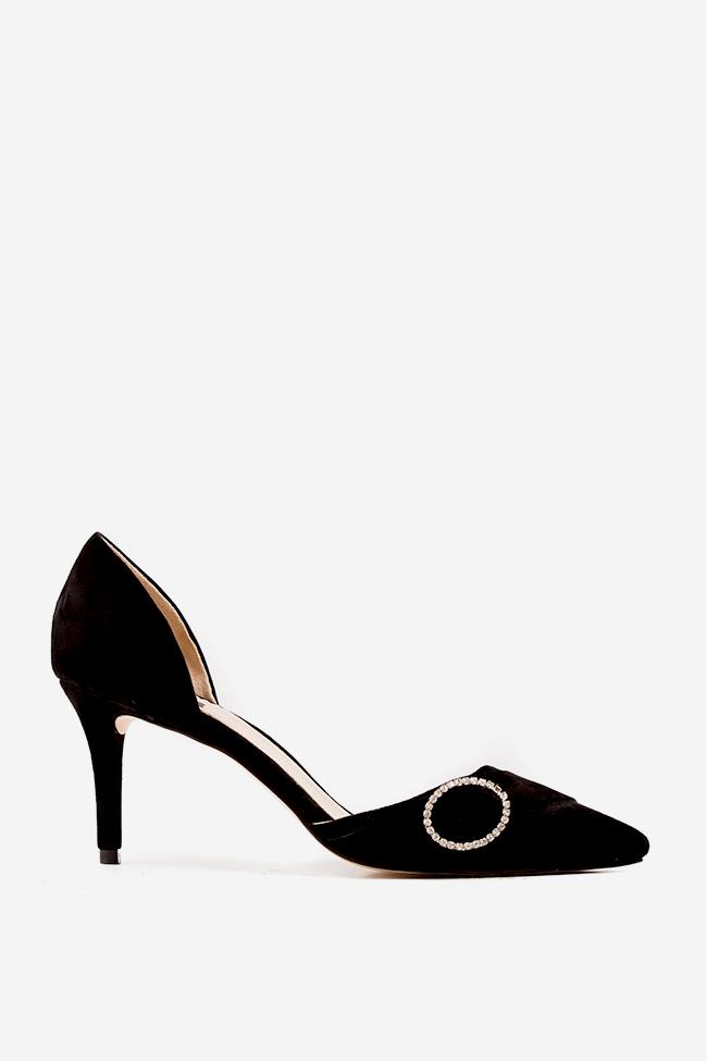 Chaussures en daim avec accessoire So Elegant Hannami image 0
