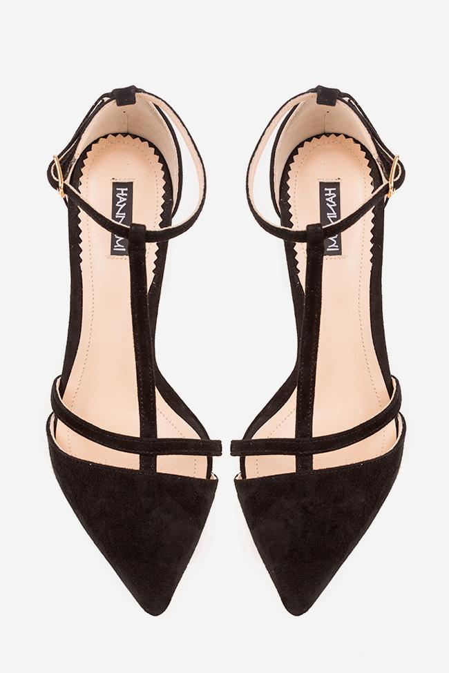 Pantofi din piele intoarsa Classy Lady Hannami imagine 2