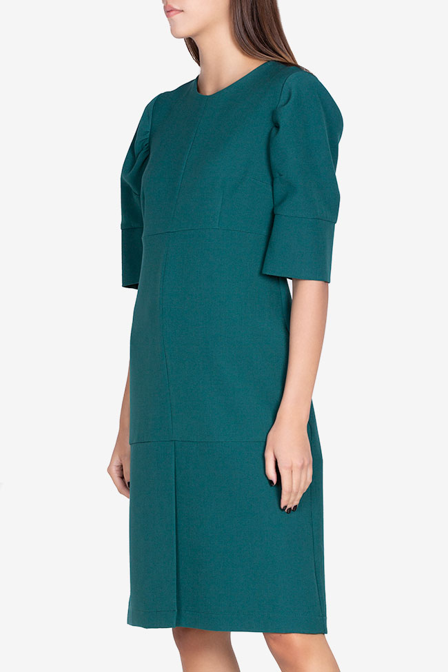 Cotton-blend mini dress Bluzat image 0