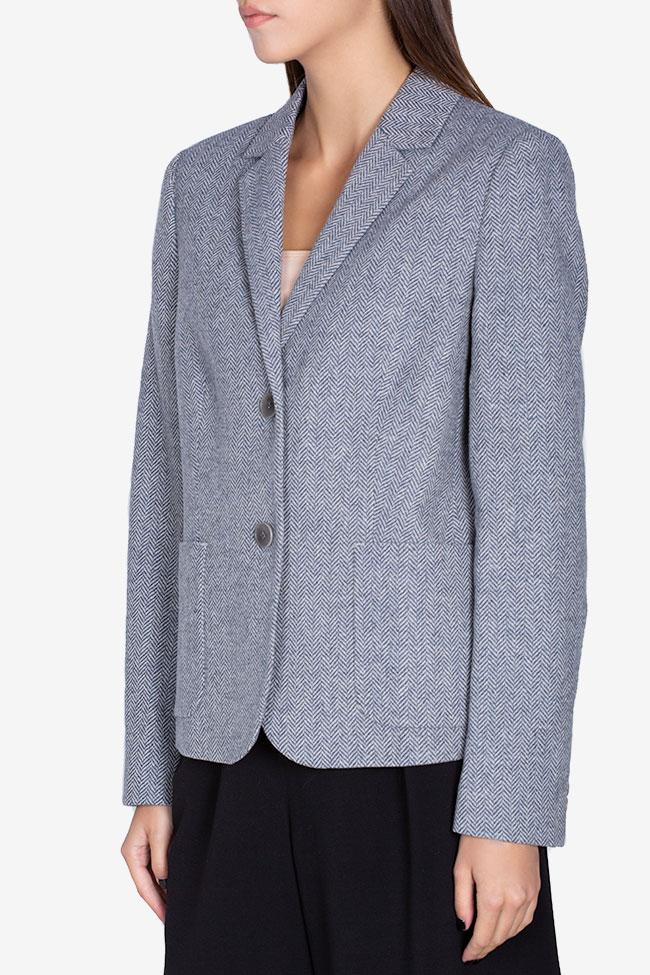 Pinstriped wool blazer Acob a Porter image 0